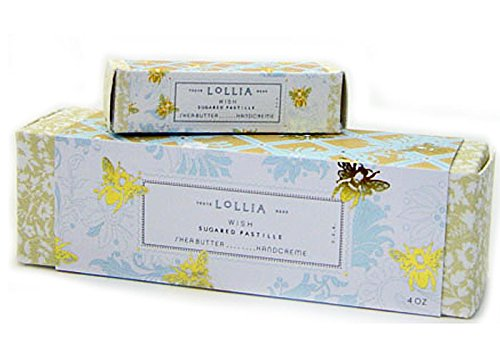 Lollia Wish Shea Butter Handcreme with Petite Treat - Wish Sugared No 22 Lollia