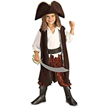 Rubies Costume Caribbean Pirate Complete Costume, Small