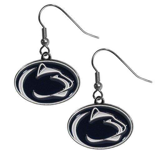 Siskiyou NCAA Penn State Nittany Lions Chrome Dangle Earrings