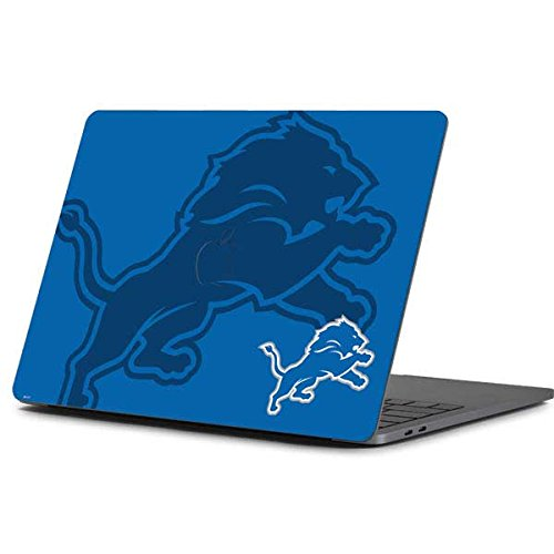 Skinit Detroit Lions Double Vision MacBook Pro 13-inch (2016-17) Skin - Officially Licensed NFL Laptop Decal - Ultra Thin, Lightweight Vinyl Decal Protection
