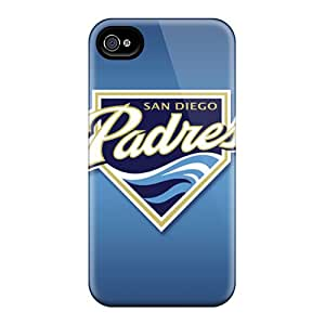 JasonPelletier Iphone 4/4s Perfect Cell-phone Hard Cover Allow Personal Design Trendy San Diego Padres Skin [fed8717IdyI]