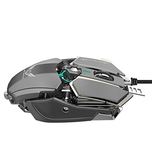 Ikevan_ Gaming MIice ZERODATE 4000DPI USB Wired Competitive Gaming Mouse 10 Programmable Buttons