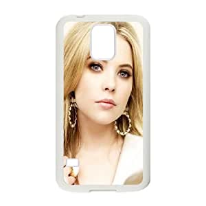 Celebrities Beautiful Ashley Benson Samsung Galaxy S5 Cell Phone Case White toy pxf005_5875005