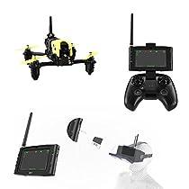 Hubsan H122D X4 STORM Pro Racer Droni Quadricotteri 720 Fotocamera 5.8Ghz FPV Goggle 360 Filps