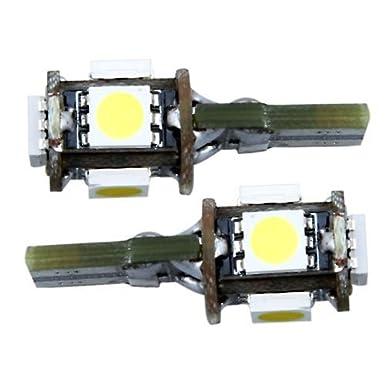 2 CANBUS T10 W5W 194 BOMBILLA LUZ LED 12V 5 SMD COCHE: Amazon.es: Iluminación