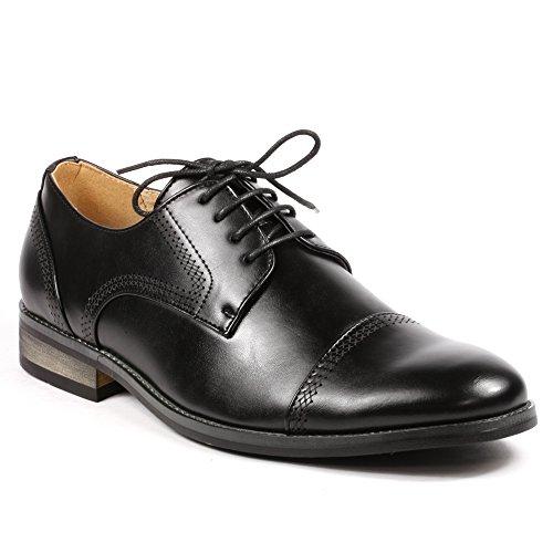 Buy Signature Men S Lace Up Toe Dress Shoes Black