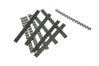 Estrichklammern Wellenverbinder 100 Stück 6*120mm Rissverschluß Amafino