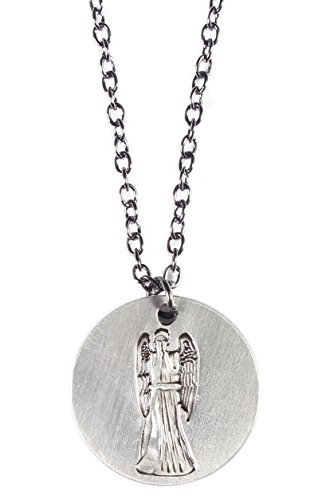 Doctor Who Don't Blink Weeping Angel Pendant Necklace w/18