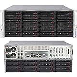 Supermicro Superserver 6047R. E1r36l Barebone System . 4U Rack. Mountable . Intel C602j Chipset . Socket R Lga. 2011 . 2 X Processor Support . Black . 512 Gb Maximum Ram Support . Serial Ata/600, Serial Ata/300, 6Gb/S Sas Raid Supported Controller . Matro