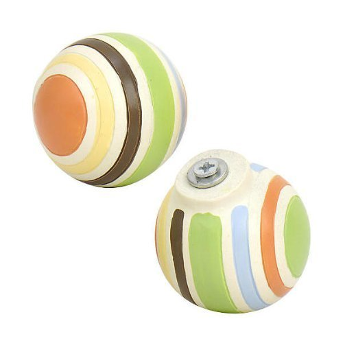 - Little Boutique striped Drawer Pulls by Kids Line