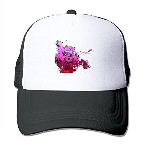 Wubgg Mens Womens DJ Music Running Trucker Hat Trucker Hats For Men (Nightlife Mesh Cap)