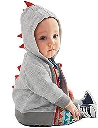 Odziezet ARAUS Dinosaur Hoodie Long Sleeve Zipper Sweatshirt Jacket for Toddler Boys