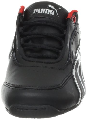 Puma Drift Cat 6 Leather Ferrari JR Sneaker,BlackBlack