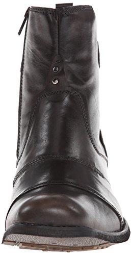 Lit Stu Mens Burst Boot Noir Lavage À La Main