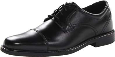 Clarks Men's Quid Fargus Oxford,Black Leather,7.5 M US