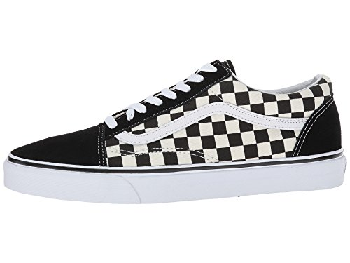 Vans Old Skool Primary Checker Blkwht Size 115 M Us Women 10 M Us Men