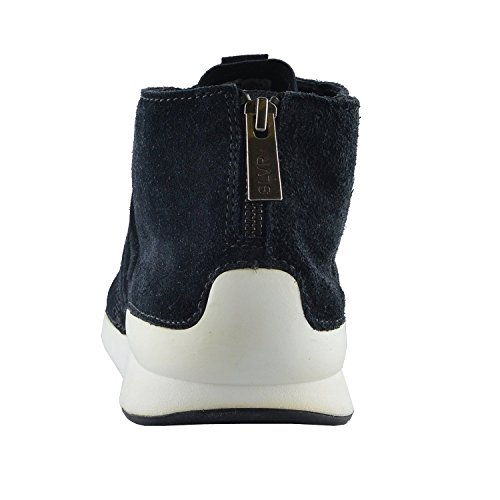 40 Suede Sneakers IT Fashion Mens Leather Hi US Black Top Shoes Adidas 7 SLVR qtxH4O