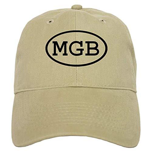 (MGB Oval Cap - Baseball Cap with Adjustable Closure, Unique Printed Baseball Hat)