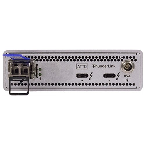 ATTO ThunderLink NS 3101 (SFP+) Thunderbolt 3 to 10GbE Adapter TLNS-3101-D00 by ATTO (Image #1)