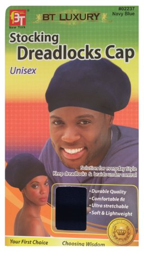 stocking-dreadlocks-cap-navy-blue-comfortable-fit-stretchable-super-stretchy-soft-durable-lightweigh