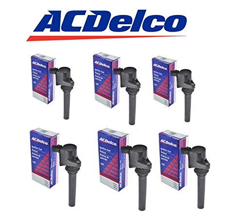 Price comparison product image DG513 ACDELCO Ignition Coil FOR 00-09 Ford Mercury Mazda 3.0L BS5082 C1458 DG486 (PACK OF 6)