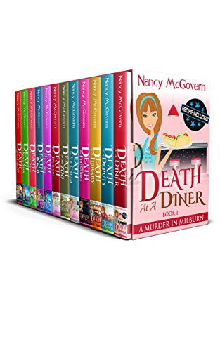 A Murder In Milburn, The Complete Series: 12 Book Box Set With 12 Delicious Recipes & Bonuses by Nancy McGovern