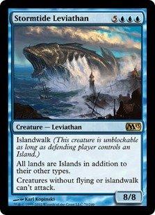 Magic: the Gathering - Stormtide Leviathan (70) - Magic 2013