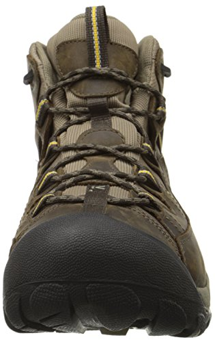 Keen Men's Targhee Ii Mid Wp High Rise Hiking Boots Brown (Black Olive/Yellow) Wdn9RVQwdT