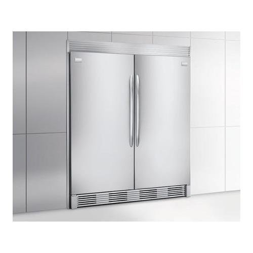 Frigidaire 64″ Built-In All Refrigerator and All Freezer Combo with 18.6 cu. ft. Refrigerator and 18.6 cu. ft. Freezer in Stainless