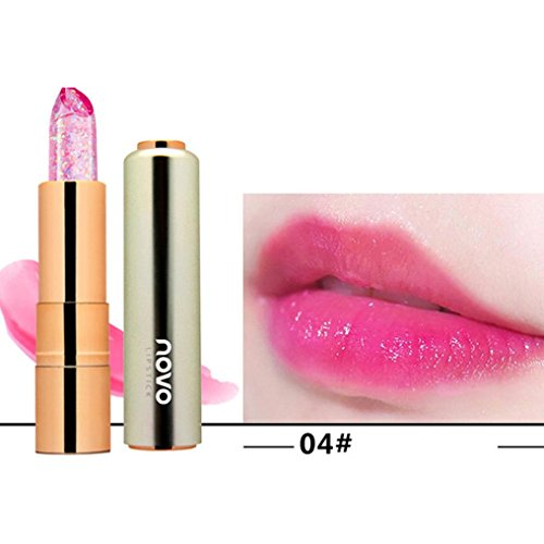 Forever Lip Color Lipstick (Professional Lipstick Permanent Long-lasting Makeup Lip Glosses for Girls by TOPUNDER)