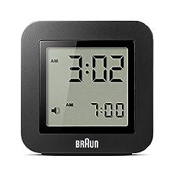 Braun BNC018BK Quartz Alarm Clock
