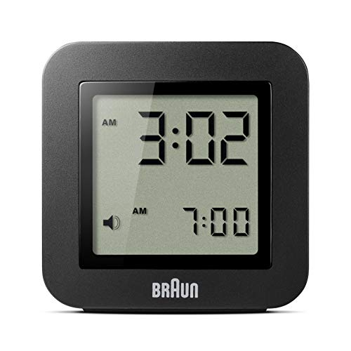 braun digital lcd alarm clock - 4