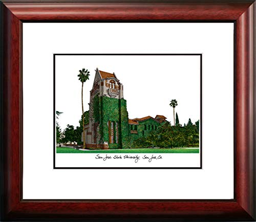 "Campus Images ""San Jose State University Alumnus Framed Lithographic Print"