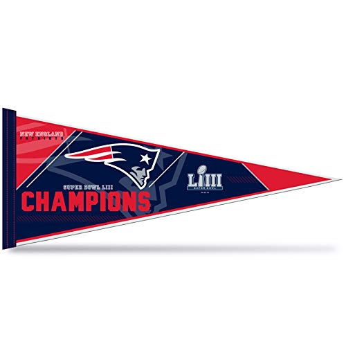 New England Patriots Super Bowl Champs Pennant