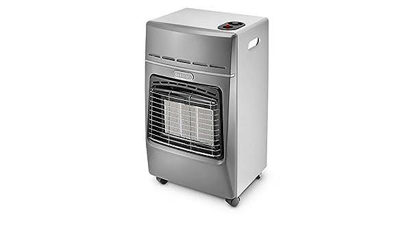 Estufas/Estufa Gas ad infrarrojos delonghi 4200 W MOD. IR3010.Gy Color Silver: Amazon.es: Bricolaje y herramientas