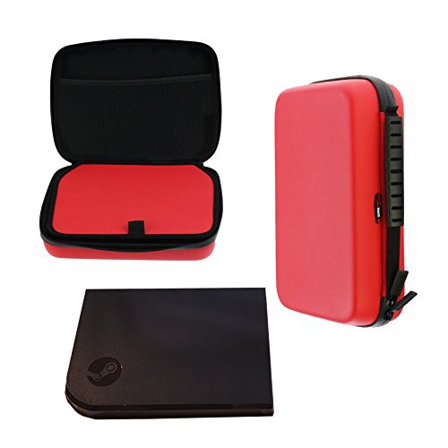 Navitech Red Shock Proof Carry Case for the Steam Link - Buy