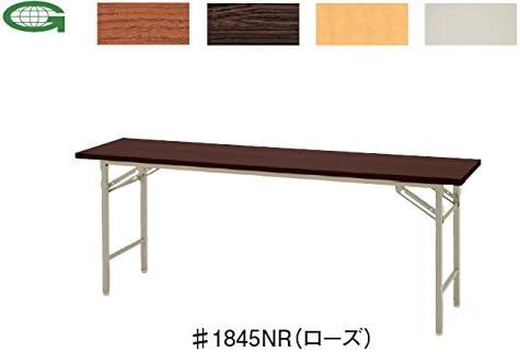 折りたたみテーブル 棚なし (W1500×D450×H700mm)  #1545N□
