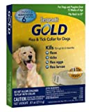 Sergeants Gold Flea & Tick Collar for Dogs, 0.97 (Pack of 2)