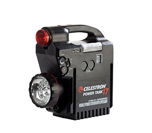Celestron Celestron Rechargeable Power Supply PowerTank 17, 12v 17Ah, Black (18777) by Celestron