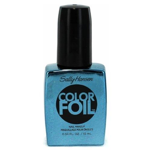 Sally Hansen ColorFoil Nail Make-Up ~ Cobalt Chrome 430 ~ Limited (Sally Hansen Chrome Nail Makeup)