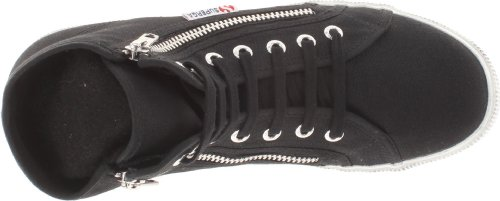 Superga Dames 2224 Cotdu Fashion Sneaker Zwart