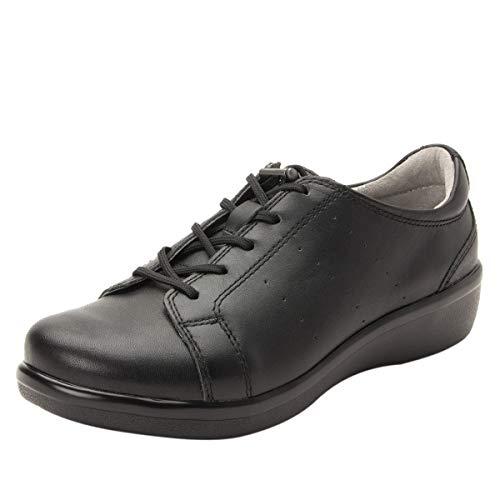 TRAQ BY ALEGRIA Cliq Womens Smart Walking Shoe Black Out 7 M US