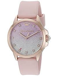 Juicy Couture Women's 1901406 Jetsetter Analog Display Japanese Quartz Pink Watch