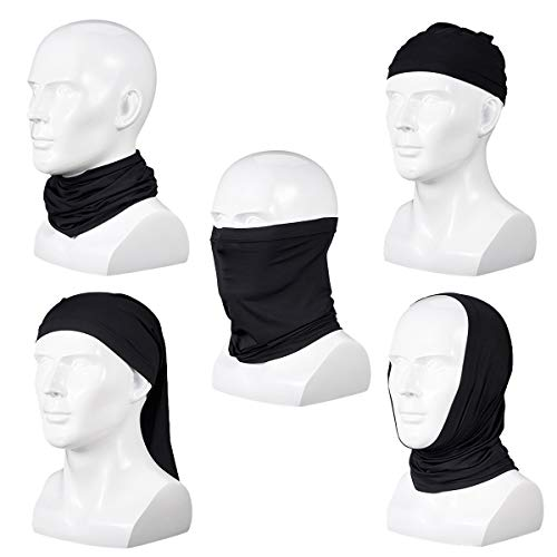 Unisex Neck Gaiter Face Scarf Face Cover Breathable for UV Protection Dust Wind