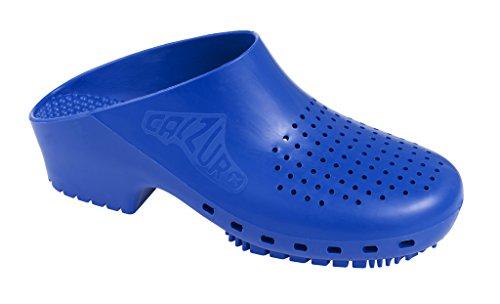 Calzuro Autoclavable Clog Blue with Ventilation Upper Royal qFrq8