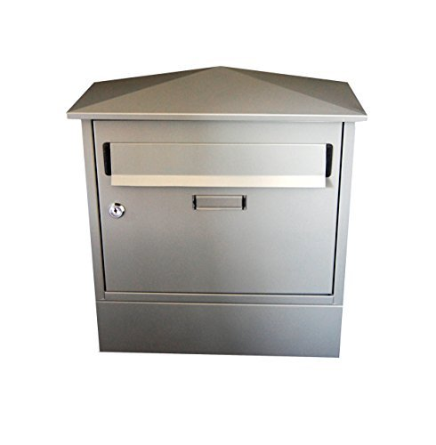 G2 Trading Company 044 Itchen Steel Postbox with Newspape...
