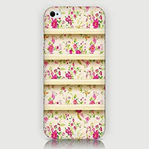 WQQ Wildflower Pattern Back Case for iPhone5/5s