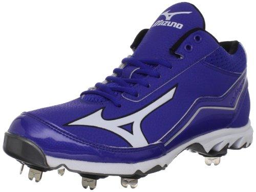 Mizuno Heren Mizuno 9-spike Swagger 75 Baseball Shoe Royal / White