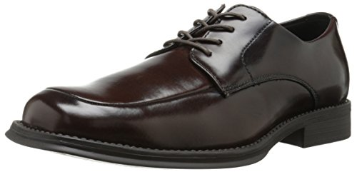 Kenneth Cole REACTION Men's Simplified Oxford, Brown, 10 M US