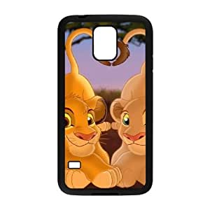 Lion King Samsung Galaxy s5 Black Cell Phone Case GSZWLW3296 Clear Cell Phone Cases